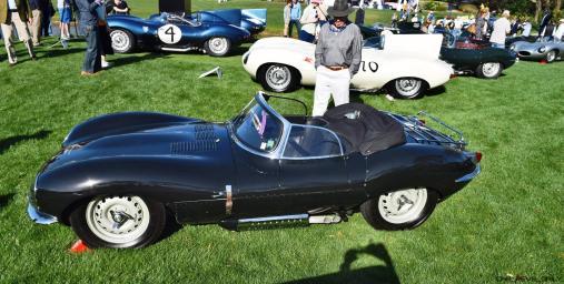 1957 Jaguar XKSS 716 at Amelia Island Concours 21