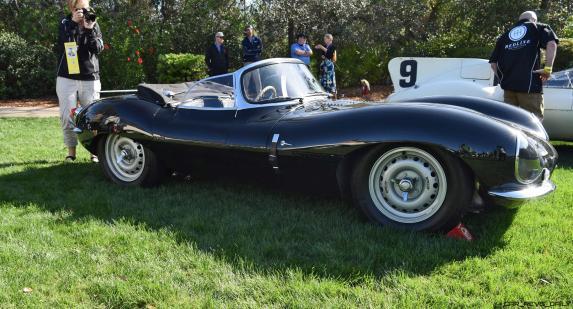 1957 Jaguar XKSS 716 at Amelia Island Concours 37