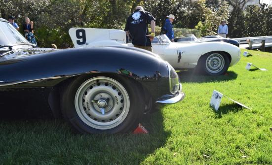 1957 Jaguar XKSS 716 at Amelia Island Concours 38