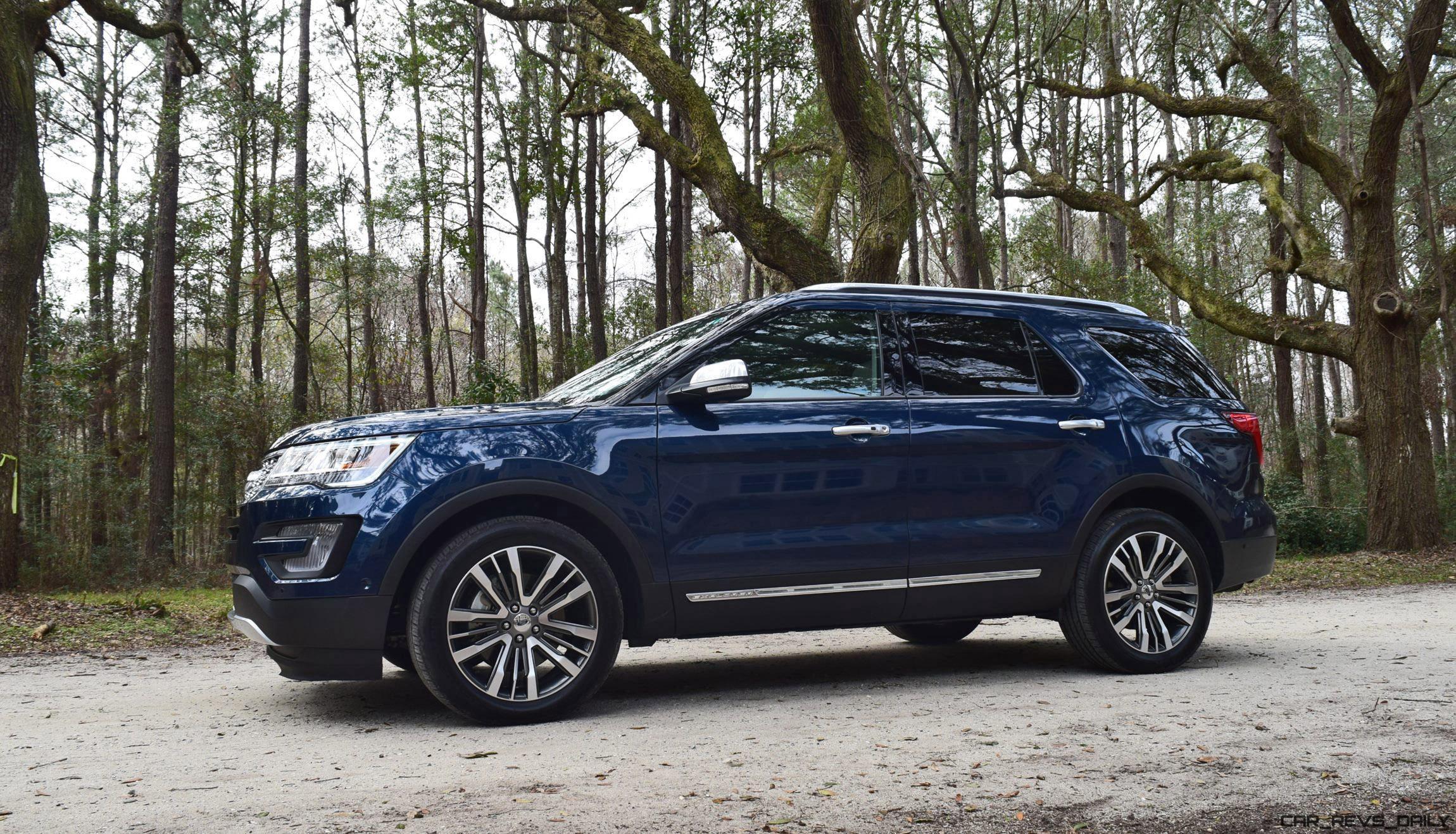 Colors Ford Platinum 2017 Explorer