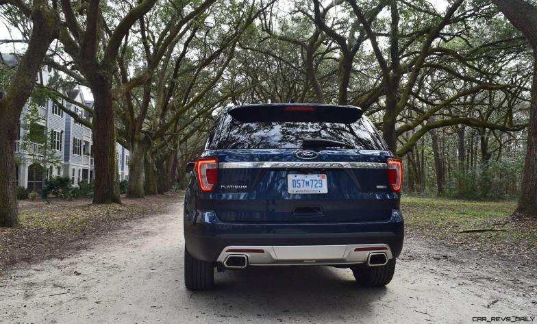 2017 Ford Explorer PLATINUM Exterior 18