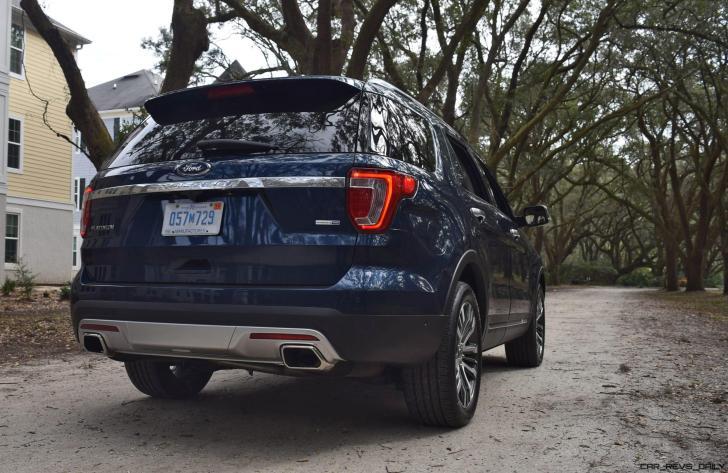 2017 Ford Explorer PLATINUM Exterior 19