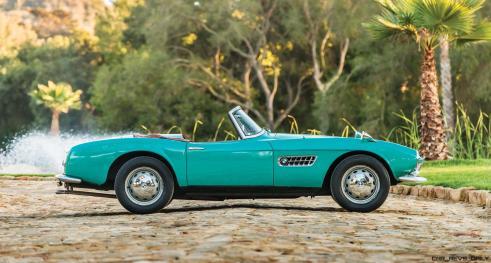 1957 BMW 507 Roadster Series I - RM Sotheby's Villa Erba 2017 5