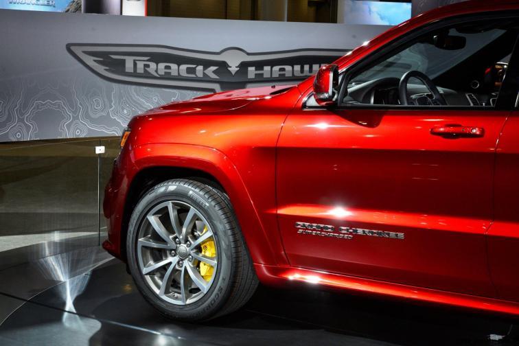 2018 Jeep SRT TrackHawk 21