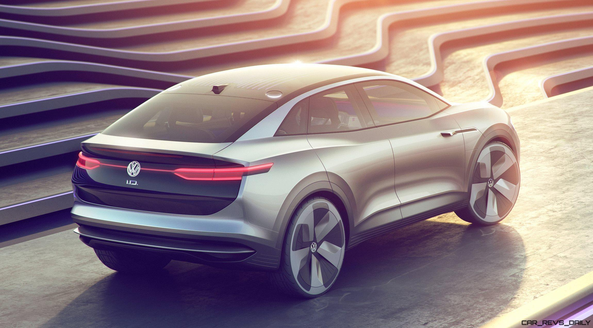 2017 Vw Id Crozz Concept Goofy Preview Of Future E Suv