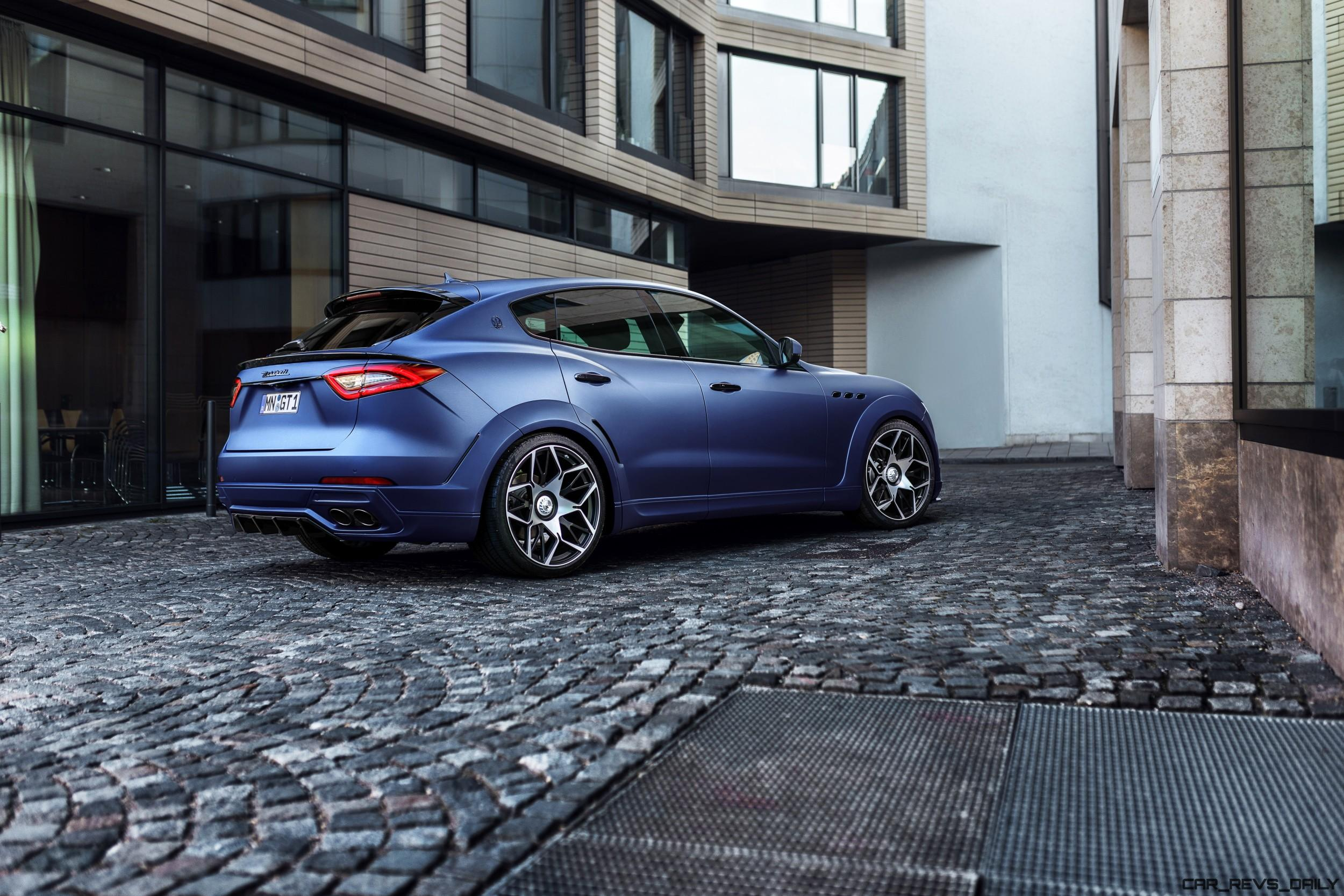 Car Rims And Tires Wallpaper Novitec Esteso Is Designer Widebody Maserati Levante 187 Car