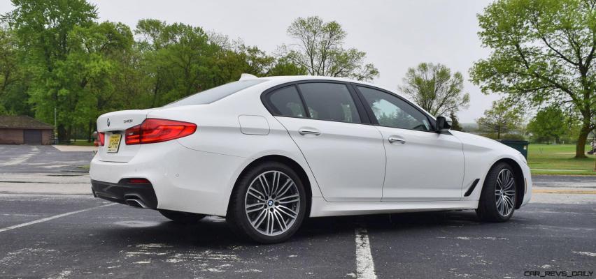 2017 BMW 540i 40