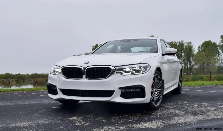 2017 BMW 540i 8