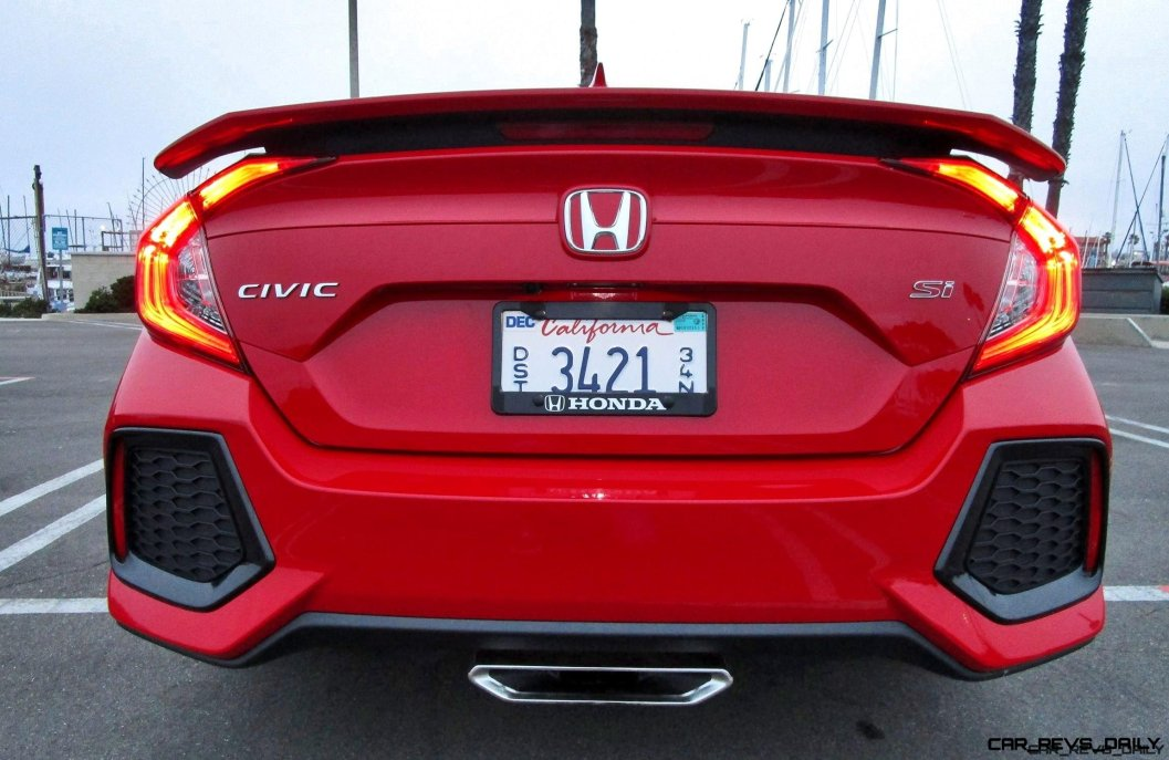 2017 Honda Civic Si Sedan 6