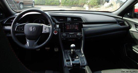 2017 Honda Civic Si Sedan INTERIORS 16