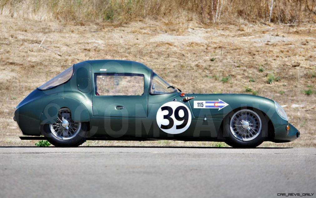 1957 Arnott-Climax 1100 GT 8