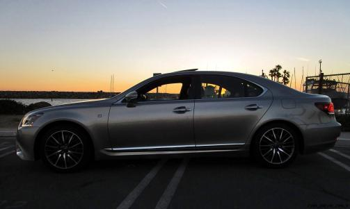 2017 Lexus LS460 F Sport Exteriors 8