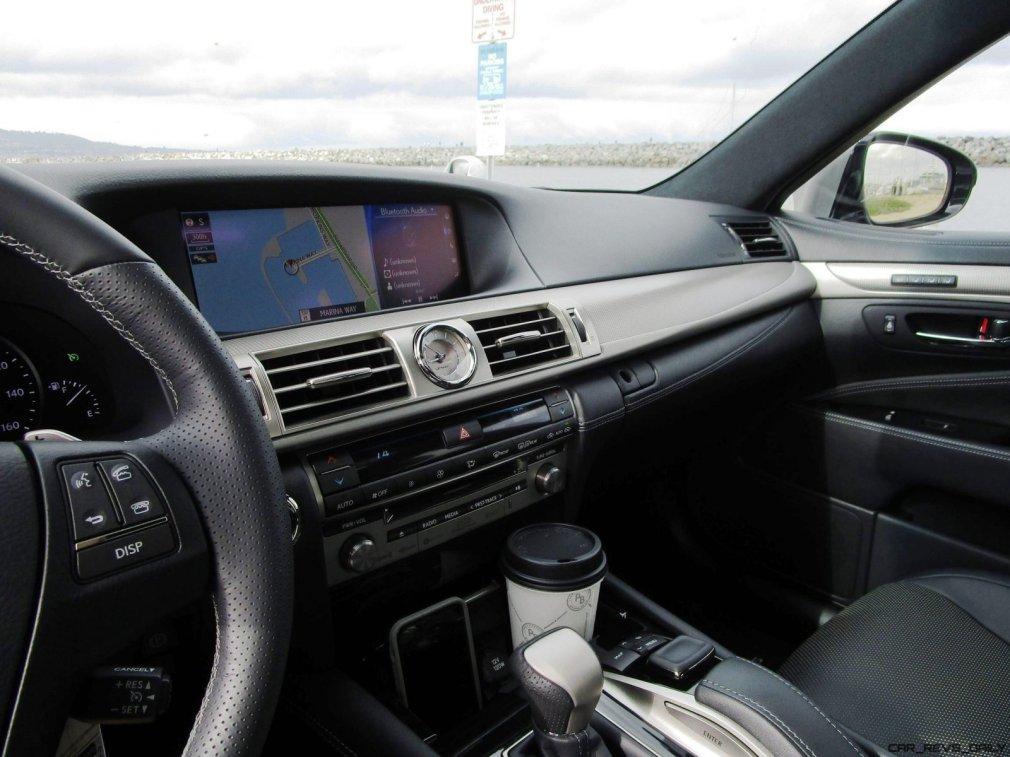2017 Lexus LS460 F Sport Interiors 16