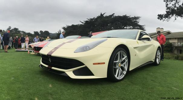 2017 Ferrari 70 Anni Collection at Pebble Beach Concours 1