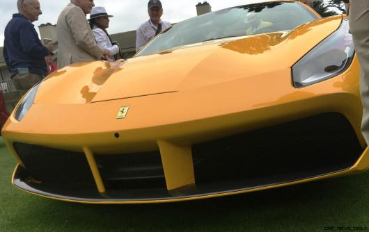 2017 Ferrari 70 Anni Collection at Pebble Beach Concours 11