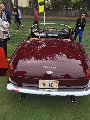 2017 Ferrari 70 Anni Collection at Pebble Beach Concours 110