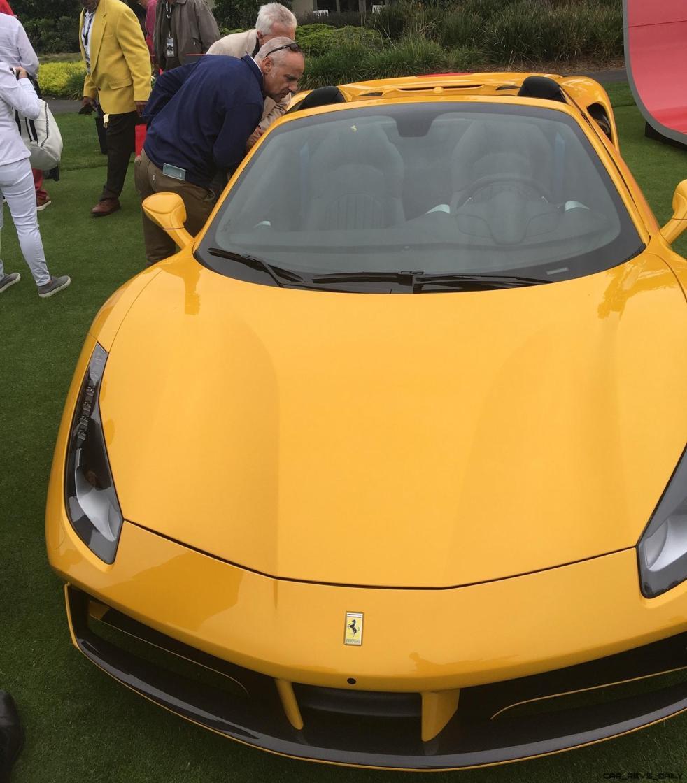 2017 Ferrari 70 Anni Collection at Pebble Beach Concours 12