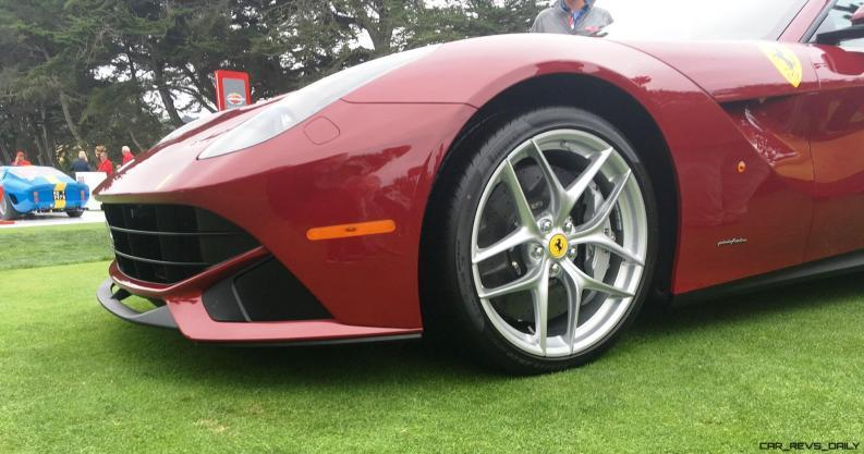 2017 Ferrari 70 Anni Collection at Pebble Beach Concours 14