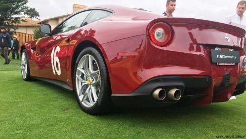 2017 Ferrari 70 Anni Collection at Pebble Beach Concours 25