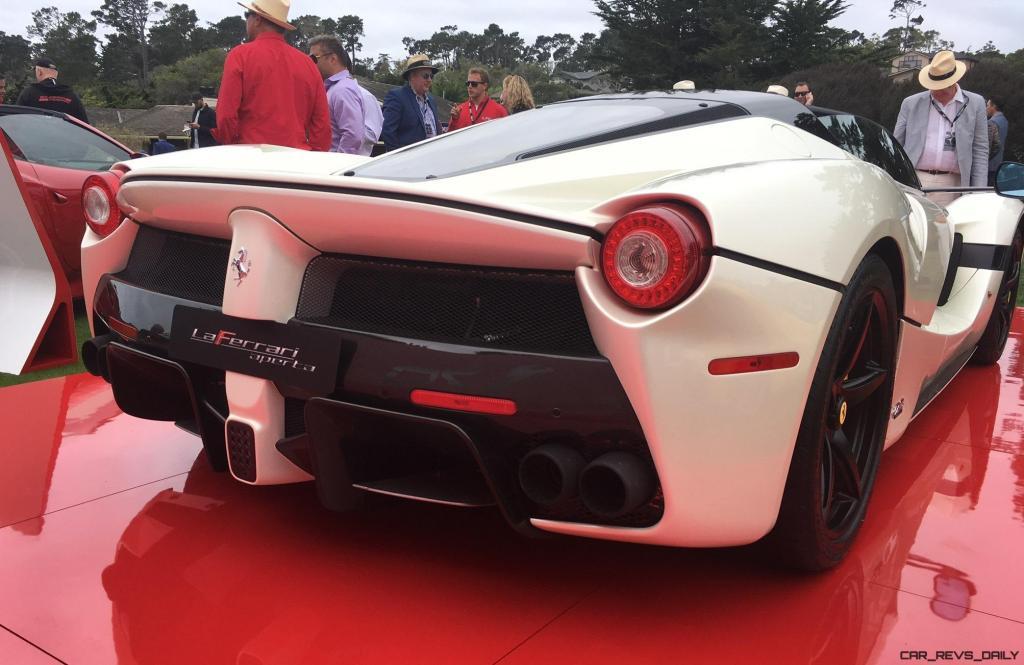 2017 Ferrari 70 Anni Collection at Pebble Beach Concours 33