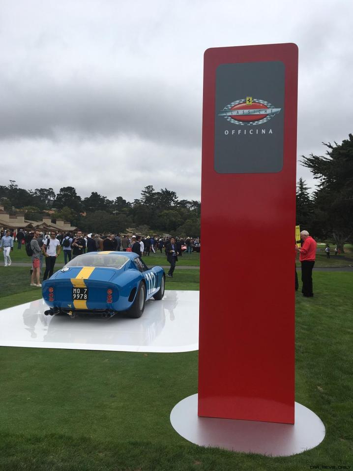 2017 Ferrari 70 Anni Collection at Pebble Beach Concours 43