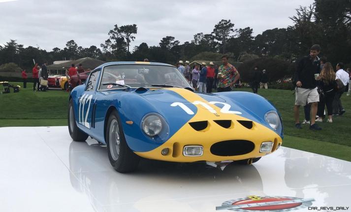 2017 Ferrari 70 Anni Collection at Pebble Beach Concours 49