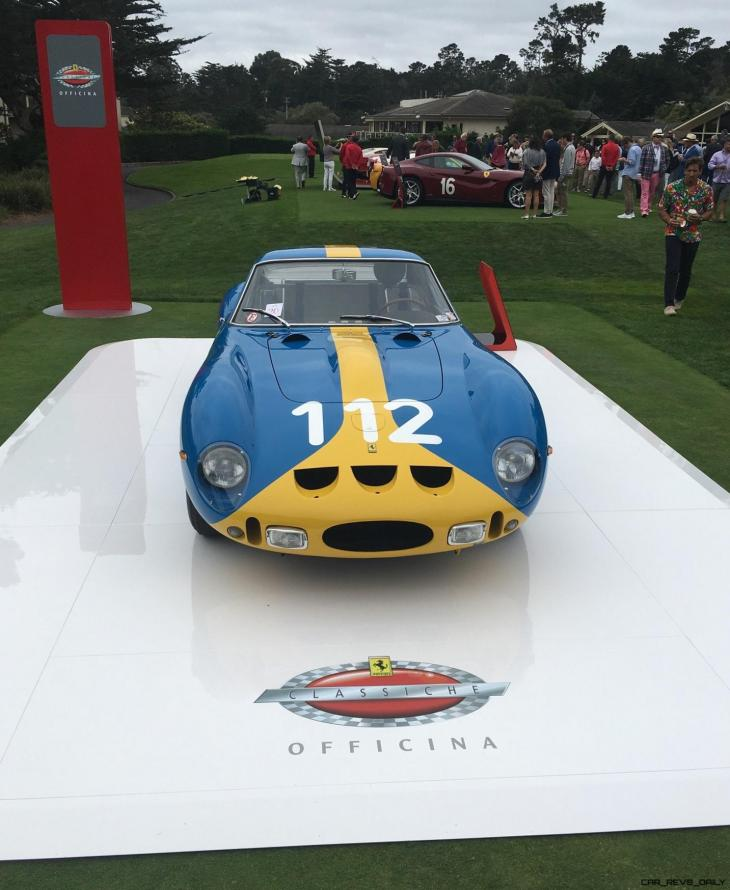 2017 Ferrari 70 Anni Collection at Pebble Beach Concours 51