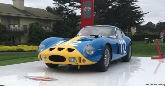 2017 Ferrari 70 Anni Collection at Pebble Beach Concours 56