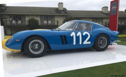 2017 Ferrari 70 Anni Collection at Pebble Beach Concours 58