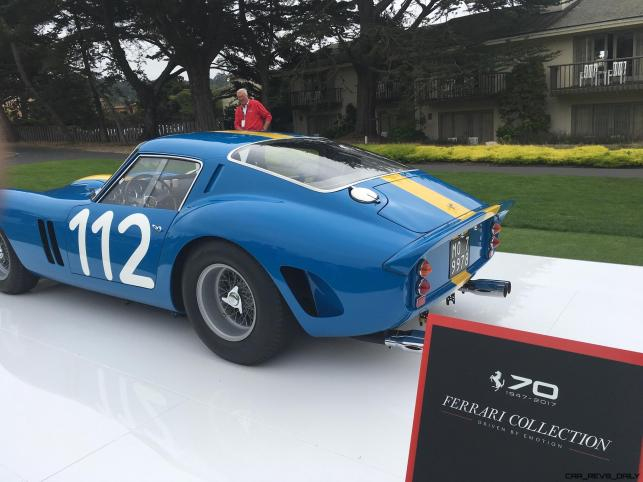 2017 Ferrari 70 Anni Collection at Pebble Beach Concours 61