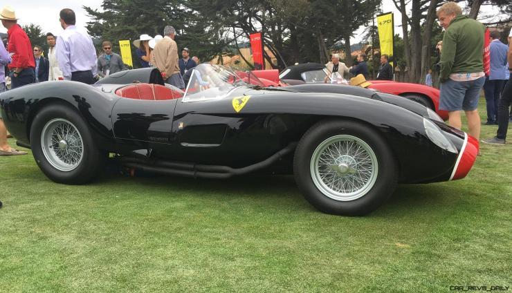 2017 Ferrari 70 Anni Collection at Pebble Beach Concours 66