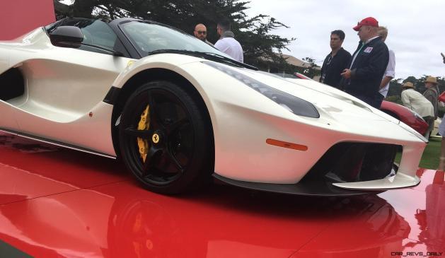 2017 Ferrari 70 Anni Collection at Pebble Beach Concours 7