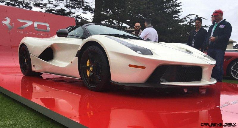 2017 Ferrari 70 Anni Collection at Pebble Beach Concours 8