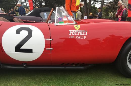 2017 Ferrari 70 Anni Collection at Pebble Beach Concours 95