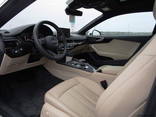 2018 Audi A5 Coupe INTERIORS 1