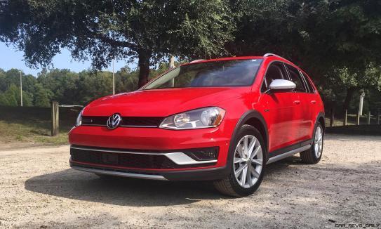 2017 VW Golf Alltrack S 25