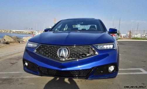 2018 Acura TLX A-Spec V6 SH AWD 1