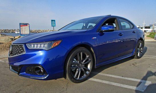 2018 Acura TLX A-Spec V6 SH AWD 4