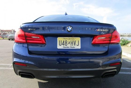 2018 BMW M550i xDrive Sedan Ben Lewis 11