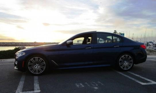 2018 BMW M550i xDrive Sedan Ben Lewis 12