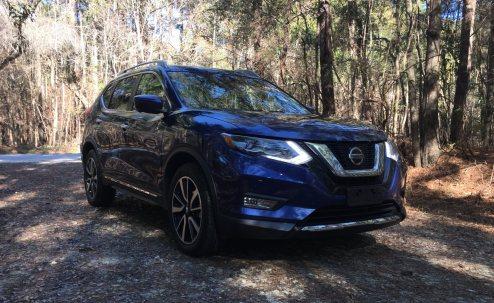 2018 Nissan ROGUE Platinum Reserve 36