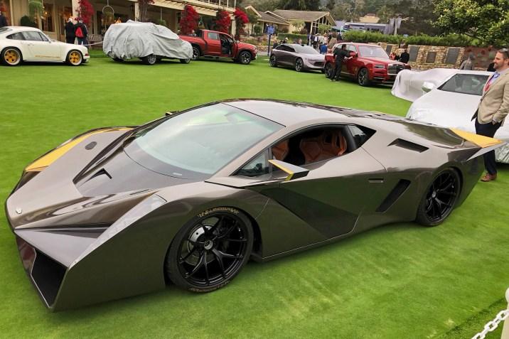 2018 SALAFF C2 Supercar Concept 14