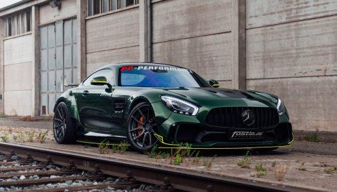 Widebody AMG GTS in Emerald Green 10
