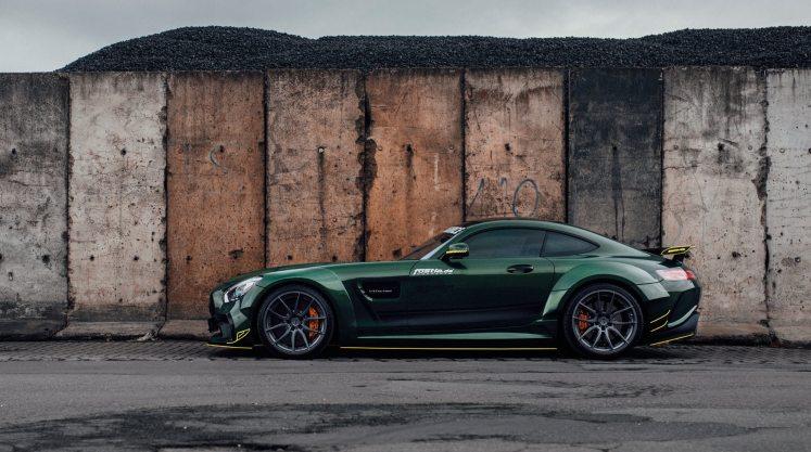 Widebody AMG GTS in Emerald Green 13