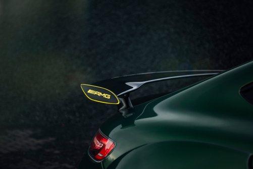 Widebody AMG GTS in Emerald Green 2