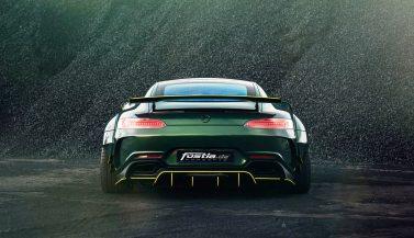Widebody AMG GTS in Emerald Green 5