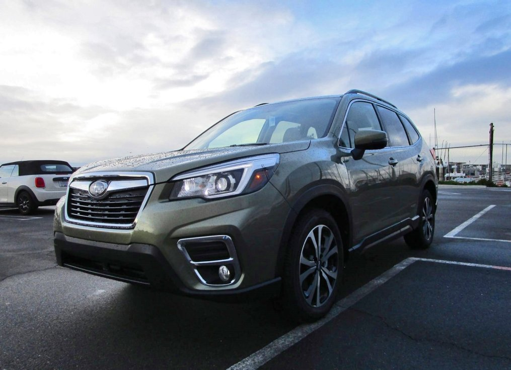 2019 Subaru Forester Limited 1