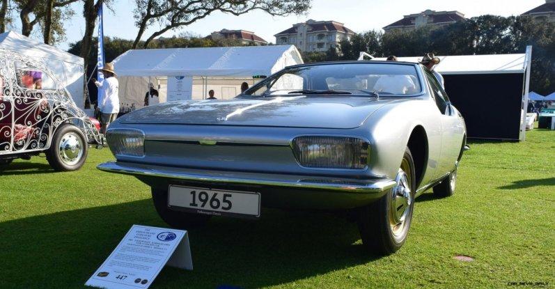 1965 Volkswagen Karmann-Ghia Type 1 Concept - Amelia Concours 2019 2