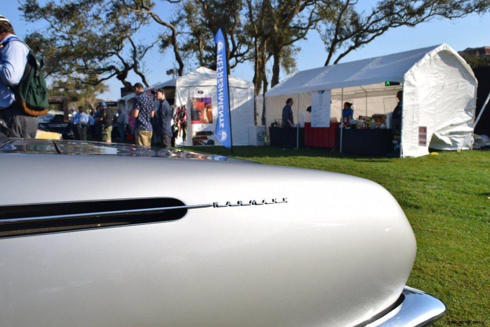 1965 Volkswagen Karmann-Ghia Type 1 Concept - Amelia Concours 2019 20