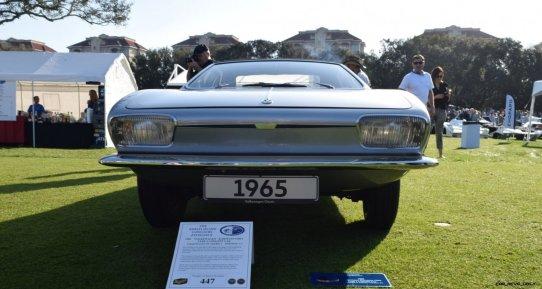 1965 Volkswagen Karmann-Ghia Type 1 Concept - Amelia Concours 2019 4